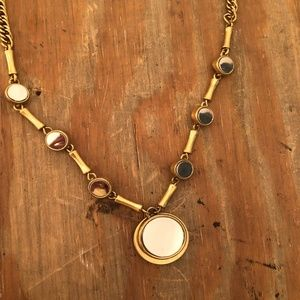 J. Crew Jewelry - J Crew Gold Mirror Necklace